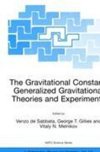 The Gravitational Constant: Generalized Gravitational Theories a