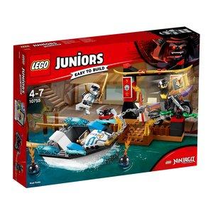 LEGO® Juniors 10755 - Zanes Verfolgungsjagd mit dem Ninjaboot,