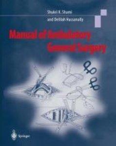 Manual of Ambulatory General Surgery