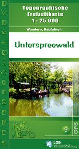 Unterspreewald 1 : 25 000