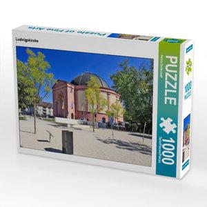 CALVENDO Puzzle Ludwigskirche 1000 Teile Lege-Größe 64 x 48 cm F