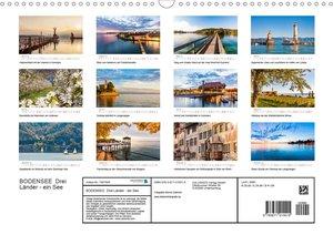 BODENSEE Drei Länder - ein See (Wandkalender 2020 DIN A3 quer)