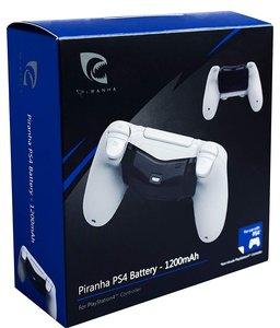 PIRANHA PS4 BATTERY 1200 mAh, Akkupack für PS4-Controller