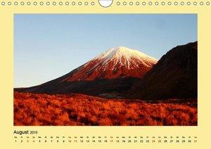 Neuseeland - Tongariro Nationalpark (Wandkalender 2019 DIN A4 qu