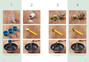 Kinderleichte Becherküche - Back-Set groß 6-tlg. Vegetarisch