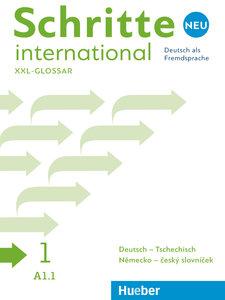 Schritte international Neu 1. Glossar XXL Deutsch-Tschechisch -