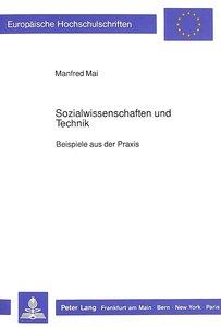 Sozialwissenschaften und Technik