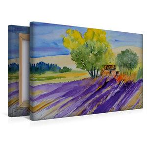 Premium Textil-Leinwand 45 cm x 30 cm quer Provence