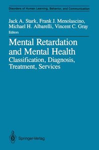 Mental Retardation and Mental Health