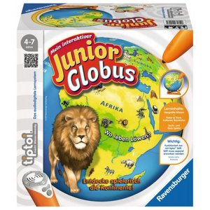 Ravensburger 7851 tiptoi Mein interaktiver Junior Globus