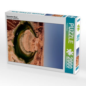 Horseshoe Bend 2000 Teile Puzzle hoch