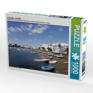 Lanzarote - Arrecife 1000 Teile Puzzle quer