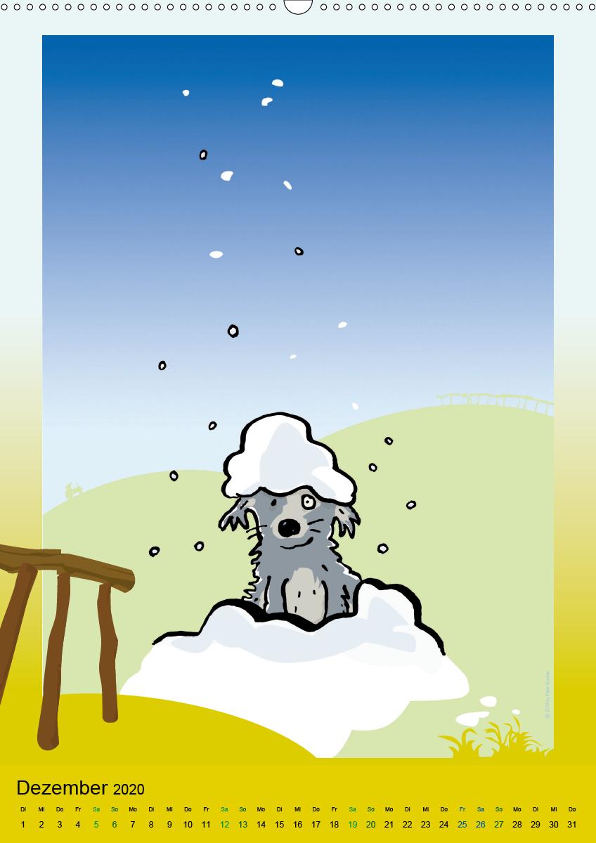 Landleben - lustige Tierzeichnungen - zum Schließen ins Bild klicken