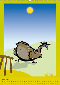 Landleben - lustige Tierzeichnungen