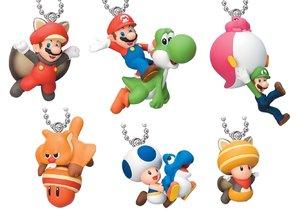Nintendo Super Mario Figuren Anhänger