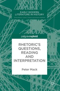 Rhetoric\'s Questions, Reading and Interpretation