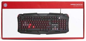 snakebyte Gaming-Tastatur FC Bayern München, Keyboard
