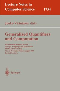 Generalized Quantifiers and Computation