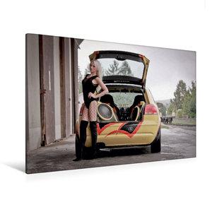 Premium Textil-Leinwand 120 cm x 80 cm quer Bass und Beats