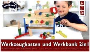 Werkzeugkasten und Werkbank 2 in 1