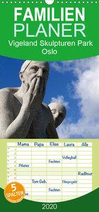 Vigeland Skulpturen Park Oslo - Familienplaner hoch