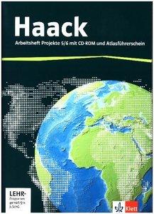 Der Haack Weltatlas für Sekundarstufe 1. Arbeitsheft Projekte 5/