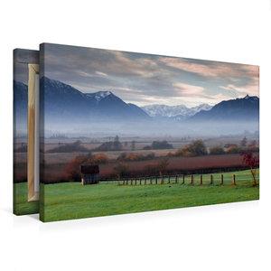 Premium Textil-Leinwand 75 cm x 50 cm quer Murnauer Moos