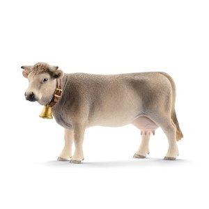 Braunvieh Kuh, Kunststoff-Figur
