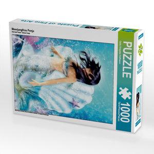 Meerjungfrau Fenja 1000 Teile Puzzle hoch