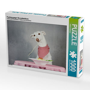 Pastatag gegen Novemberblues 1000 Teile Puzzle quer
