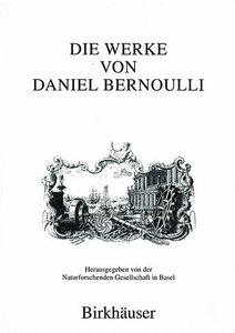 Die Werke von Daniel Bernoulli 8