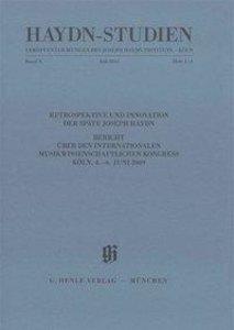 Haydn-Studien. Veröffentlichungen des Joseph Haydn-Instituts Köl