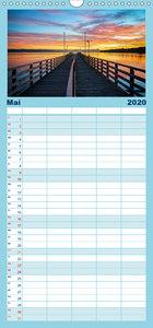 Impressionen vom Starnberger See - Familienplaner hoch (Wandkale