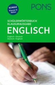 PONS Schülerwörterbuch Klausurausgabe Englisch