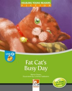 Fat Cat's Busy Day, Big Book. Level d/4. Lernjahr
