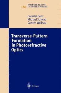 Transverse-Pattern Formation in Photorefractive Optics