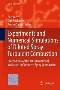 Experiments and Numerical Simulations of Diluted Spray Turbulent