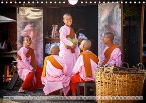 Myanmar - Reise durch das alte Burma (Wandkalender 2019 DIN A4 q