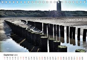 Wieder an der Nordsee (Tischkalender 2019 DIN A5 quer)