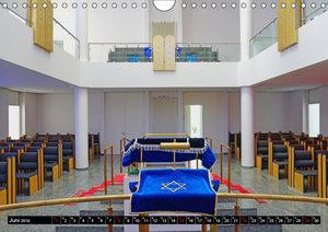 Bejt Knesset. Die Synagoge in Darmstadt (Wandkalender 2019 DIN A