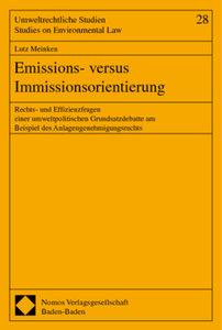 Emissions- versus Immissionsorientierung
