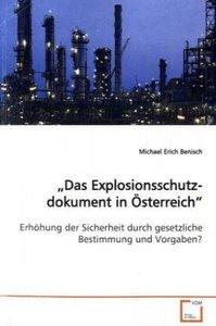 """""""Das Explosionsschutzdokument in Österreich"""""""