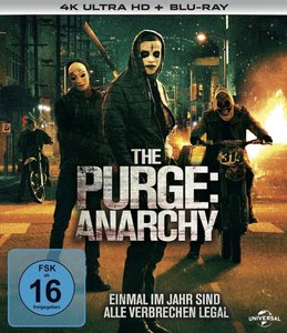 The Purge Trilogy 4K, 6 UHD-Blu-ray