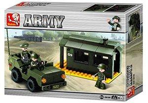 Sluban ARMY M38-B6100 - Vorposten, 171 Teile