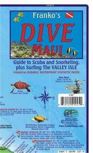Franko Map Maui Dive Map