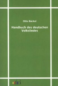 Handbuch des deutschen Volksliedes