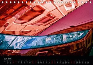 Spiegelwelten im Autolack (Tischkalender 2020 DIN A5 quer)