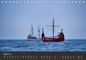 Sonne Strand und Meer in Kolberg (Tischkalender 2019 DIN A5 quer