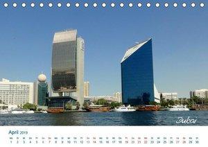 Vereinigte Arabische Emirate (Tischkalender 2019 DIN A5 quer)