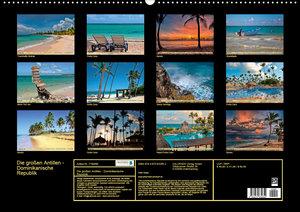 Die großen Antillen - Dominikanische Republik (Wandkalender 2020